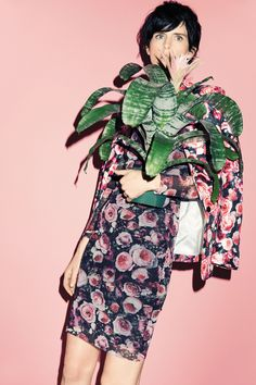 #fashion #women #elle #clothing #inspiration  #trend #style #floral #flowers #pattern