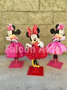 Minnie Mouse Tutu Birthday Decoration Tutu pink OR by FalconArte