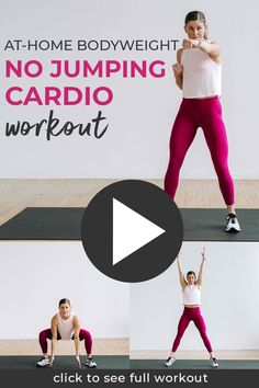 10-Minute Beginner Cardio Workout At Home (Video) | Nourish Move Love