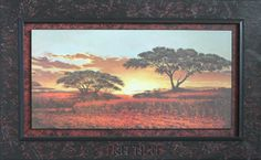 Tramonto Africano - The sunset in Africa