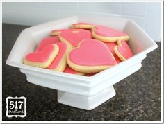 Cut-out Sugar cookies and royal icing