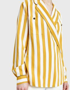 Maison Margiela / Multicolor Stripe Blouse