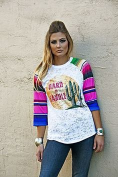 Hey, I found this really awesome Etsy listing at https://www.etsy.com/listing/273906026/womens-baseball-tee-hard-to-handle