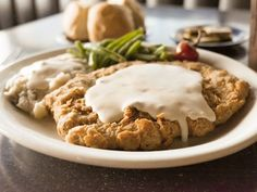 Chicken Fried Steak in Austin - Broken Spoke, Hoover's Cooking, Hill's Cafe, Jack Allen's Kitchen, Threadgill's, Lucy's Fried Chicken, Jacoby's Restaurant and Mercantile, and Green Mesquite.
