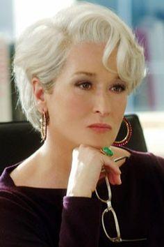 Meryl Streep as Miranda Priestly in Te Devil Wears Prada