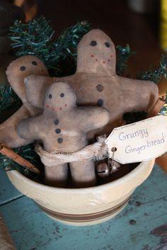 prim gingerbread men