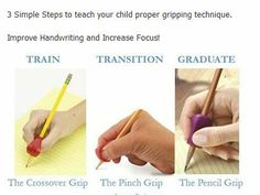 Steps for Gripping!  http://www.thepencilgrip.com/dyn_category.php?k=25774