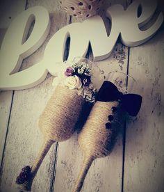 Rustic Wedding Glasses İletişim: atolye.sandalagaci@gmail.com