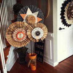 Two Junk Chix: Huge Halloween Wands