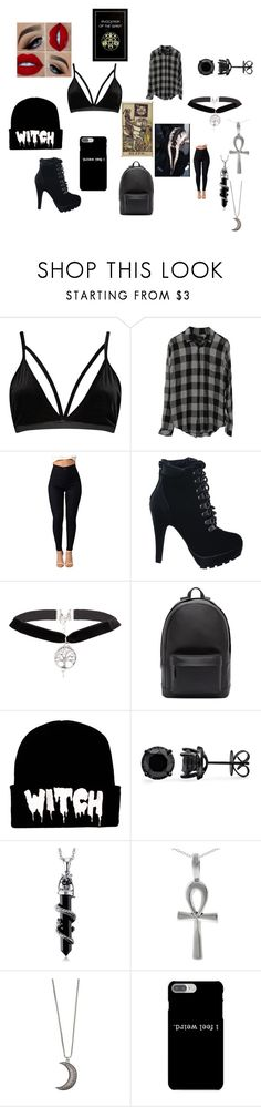 """Untitled #408"" by qweenofdisaster ❤ liked on Polyvore featuring Boohoo, Rails, PB 0110, Tressa, Gypsy Warrior and Edition"