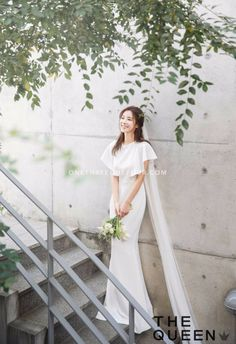 Bridal Shoot Poses Romantic Ideas For 2019 Pre Wedding Poses, Pre Wedding Photoshoot, Bridal Shoot, Korean Wedding Photography, Fashion Photography, Photography Ideas, Korean Bride, Minimal Wedding Dress, Before Wedding