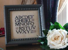 Quaker alphabet - The marking samplar