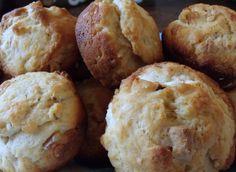 Ricotta, White Chocolate Chip, and Walnut Muffins