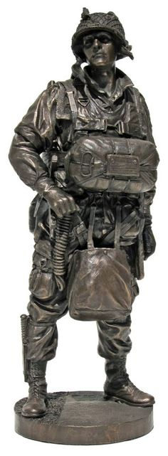 Bronze Military Statues | Army Figurines | Military Collectibles