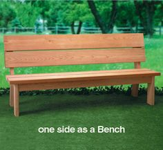This Folding Picnic Table Is The Next Great Thing For That Backyard - One sided picnic table