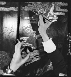 Hands of Coco Chanel, 1937. Photo: Francois Kollar.