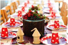 #Woodland #fairy #birthday party