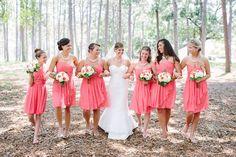 Southern Rustic Wedding Bridesmaids