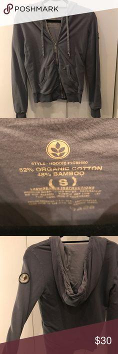 Grey Alternative sooo softy sweatshirt Awesome bluish great so soft and cozy hoodie. Perfect condition! Alternative Tops Sweatshirts & Hoodies