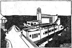 Henrik Petrus Berlage, Christian Science Church, Den Haag, 1925-1928