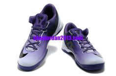 online store 956d4 1cb2c Nike Kobe 8 System MC Gradual Change Purple White Kobe Bryant Shoes  Purple