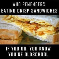 My favourite crisps for a sandwich were Cheese and Onion. Even better a potted meat sandwich with cheese and onion crisps on top. 90s Childhood, My Childhood Memories, Sweet Memories, Those Were The Days, The Good Old Days, Before I Forget, Remembering Dad, Retro Recipes, Oldies But Goodies