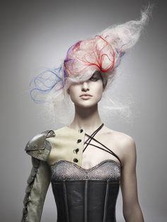 AVANT GARDE HAIR DESIGNS | Avant garde hair by Kris Sorbie. Winner 2011 NAHA Master Hairstylist ...