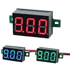 LED Mini voltmetro di tensione digitale display metro 3-30V DC 5x