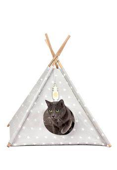 patron d co tipi pour chat pet care pinterest diy tipi and cats. Black Bedroom Furniture Sets. Home Design Ideas