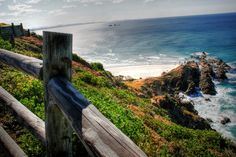 If you do one thing in Byron Bay, let it be the Lighthouse Trail (also known as the Cape Byron Walking Track). During sunrise and sunset you'll have richer colours, but it's spectacular… The Byron, Byron Bay, Lighthouse Trails, Best Sunset, Places To See, Caribbean, Things To Do, Beautiful Places, Coast