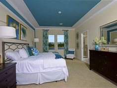 Blue & Green Master Suite