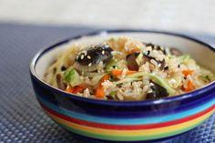 How To Make Vegetarian Fried Rice With Shiitake Mushrooms