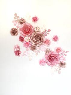 Papier Blume Wand  Papier Blume Hintergrund  Hochzeit-Wand