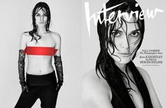 Keira Knightley Poses Topless