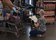 Walmart Guide To Shopping Book - Sit Down Let Mama Read You A Bedtime Story - Funny Pictures at Walmart