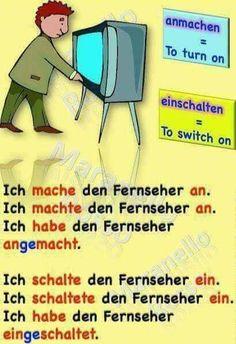 Study German, German English, Learn German, German Grammar, German Words, German Language Learning, Learn A New Language, Deutsch Language, English Phrases