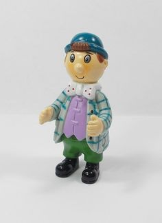 Noddy - Mr Sparks - Mini Toy Figure - 6 cm Tall - Cake Topper