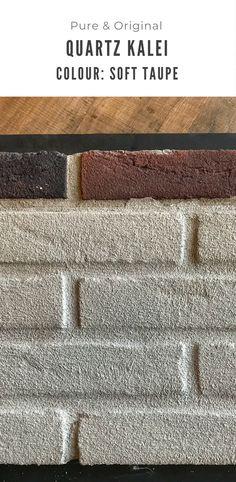 De Quartz kalei is mineraal en ademend. Kant en klaar voor gebruik en eenvoudig aan te brengen. Deze gevelverf is er in meer dan 100, honderd, kleuren. Bezoek de pagina voor sfeerbeelden en DIY filmjes met instructie. Under Construction, Paint Colors, Facade, Quartz, Pure Products, The Originals, Homes, Paint Colours, Facades