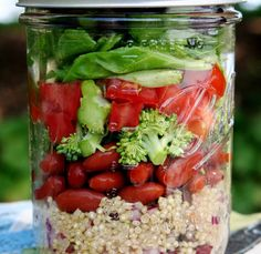 IMG 8015 1024x997 Quinoa Salad In A Jar {Recipe Redux}