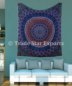 Indian Printed Tapestry Stylish Beach Throw Ethnic Bedspread Wall Art Picnic Throw Traditional Mandala Tapestry Wall Hanging - Buy Tapestry Indian Wall Art Indian Wall Hanging Tapestry Fabric Tapestry Clothing Tapestry Custom Cotton Tapestry Indian Tapestry,Tapestry For Bedroom Tapestries Home Decoration Authentic Wall Decor Ethnic Wall Art Wall Hanging Unique Wall Art,Bulk Tapestries Bulk Wall Hanging Wholesale Tapestry Wholesale Wall Hanging Wall Decor Product on Alibaba.com Dorm Tapestry, Tapestry Bedroom, Indian Tapestry, Bohemian Tapestry, Mandala Tapestry, Tapestries, Tapestry Fabric, Indian Wall Art, Psychedelic Tapestry