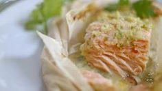 Papillote de saumon à l'asiatique