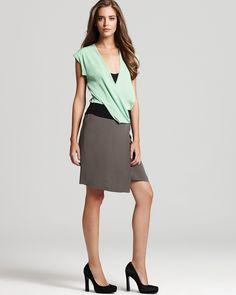 DVF dress #dianevonfurstenberg #mint #dress