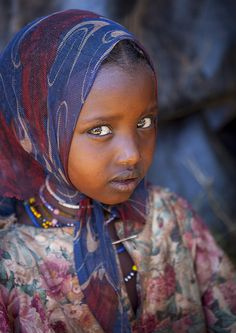 Miss Daki Dae, Borana Tribe Girl, Yabelo, Ethiopia  © Eric Lafforgue