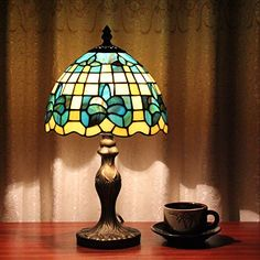 Gweat Tiffany 8-Inch Vintage Pastoral Stained Glass Tiffany Table Lamp Bedroom Lamp Bedside Lamp Tiffany & Co. http://www.amazon.com/gp/product/B012IA1OS6/ref=as_li_qf_sp_asin_il_tl?ie=UTF8&camp=1789&creative=9325&creativeASIN=B012IA1OS6&linkCode=as2&tag=divinetreas03-20&linkId=AZAYVPQGEUNC6POK