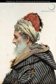 Viejo Moro (Moorish Man) by Jose Tapiro y Bario