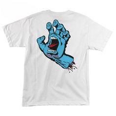 Santa Cruz Skateboards  Screaming Hand T-Shirt