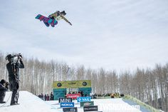 Hannah Teeter soared into second place. PHOTO: Aaron Blatt | Shaun White and Kelly Clark win the Halfpipe at the Burton US Open at Vail Colorado | TransWorld SNOWboarding