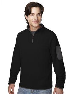Men's Fleece 1/4 Zipper Pullover (100% Polyester). Tri mountain 7048 #Ultracool #Pullover #Zipper