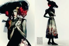 'Full Bloom' by Paolo Roversi for Vogue Italia March 2015 - Fashion Copious