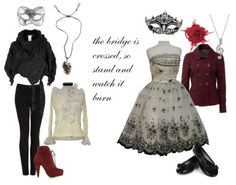 phantom of the opera inspired outfits